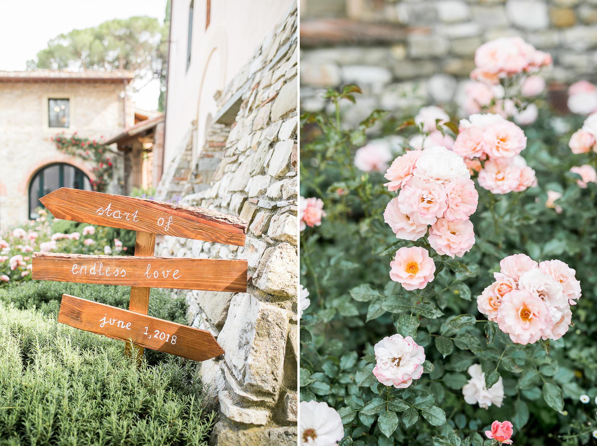 Trouwen In Toscane Jonathan Cornelie Florence Italie